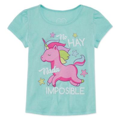 Mad Engine Graphic T-Shirt-Toddler Girls