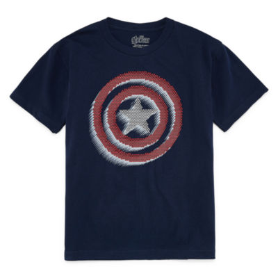 Captain America Graphic T-Shirt Boys