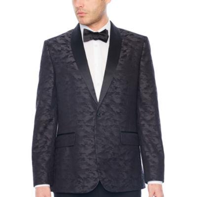 JF J.Ferrar Camouflage Classic Fit Tuxedo Jacket
