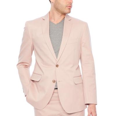 JF J.Ferrar Adobe Rose Classic Fit Stretch Suit Jacket