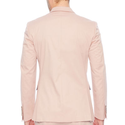 JF J.Ferrar Adobe Rose Slim Fit Stretch Suit Jacket