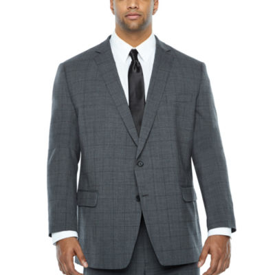 Claiborne Classic Fit Suit Jacket-Big and Tall
