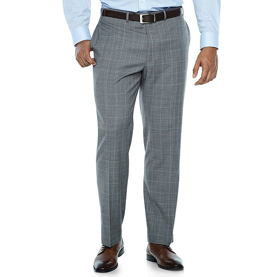 Collection by Michael Strahan  Checked Classic Fit Suit Pants - Big and Tall