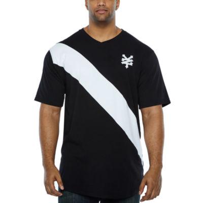 Zoo York Short Sleeve V Neck T-Shirt-Big and Tall