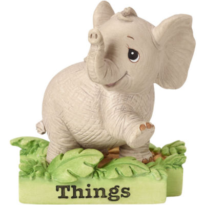 "Precious Moments  ""All Things Bright & Beautiful""  Elephant  Resin Figurine  #162412"