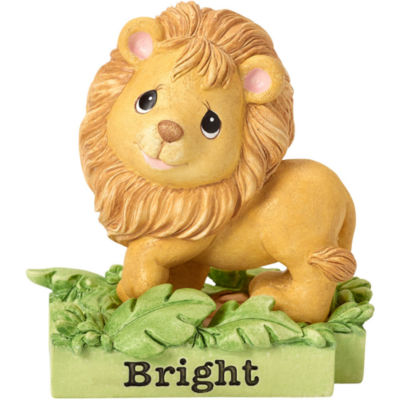 """Precious Moments  """"All Things Bright & Beautiful""""  Lion  Resin Figurine  #162413"""