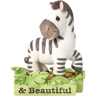 "Precious Moments  ""All Things Bright & Beautiful""  Zebra  Resin Figurine  #162414"