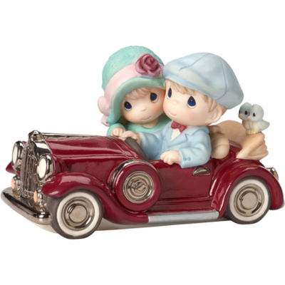 """Precious Moments  """"Our Love Is Timeless""""  Limited Edition  Bisque Porcelain Sculpture  #162028"""