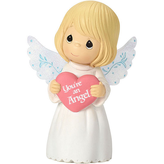 """Precious Moments  Thank You Gifts  """"You're An Angel""""  Mini Resin Figurine  #162401"""