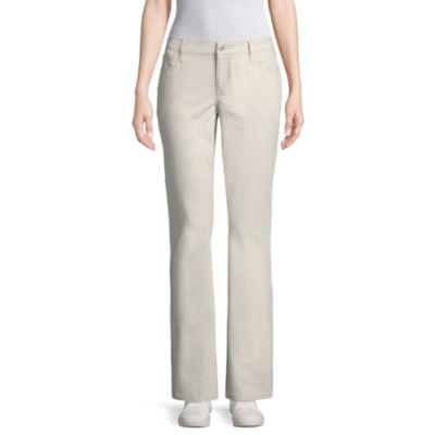 Arizona Slim Fit Pants-Juniors