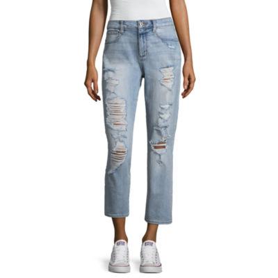 Arizona Vintage High Rise Jeans-Juniors