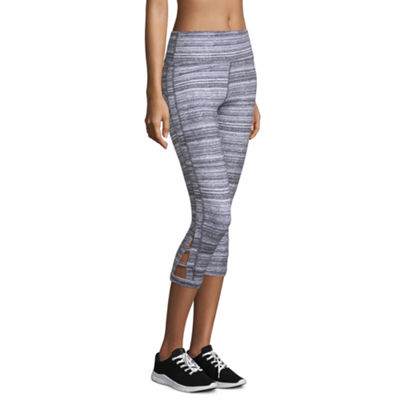 Xersion Slim Leg Modern Fit Studio Cutout Capris