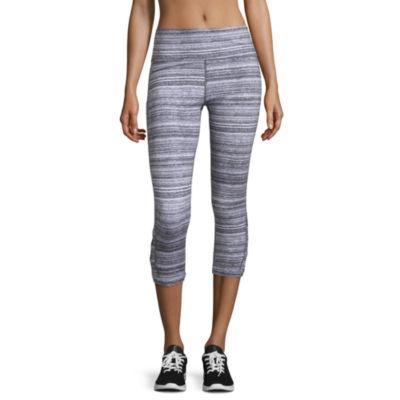 Xersion Slim Leg Modern Fit Studio Cutout Capris