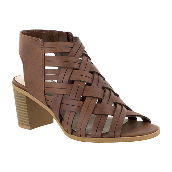 Easy Street Womens Angel Heeled Sandals
