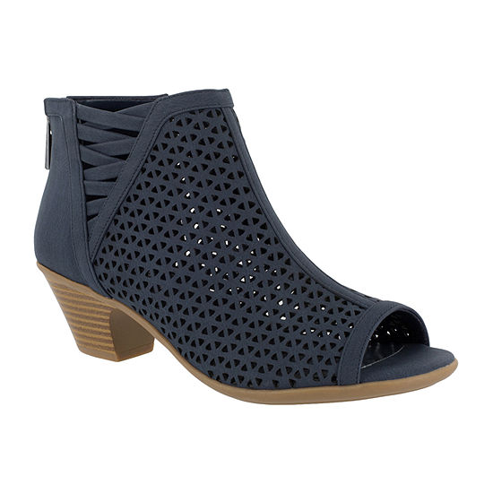 Easy Street Womens Jenny Heeled Sandals