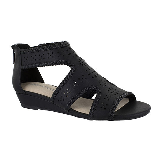 Easy Street Womens Thelma Wedge Sandals