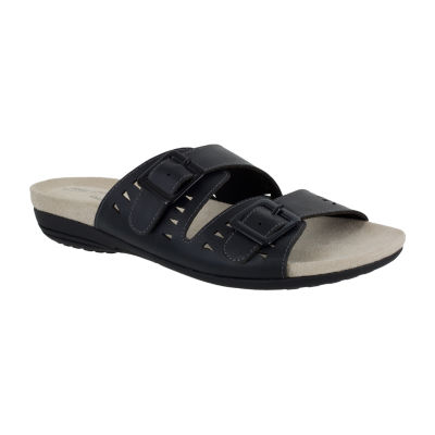 Easy Street Womens Venus Flat Sandals