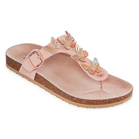 5d0c08076562 Arizona Mocha Girls Footbed Sandals - JCPenney