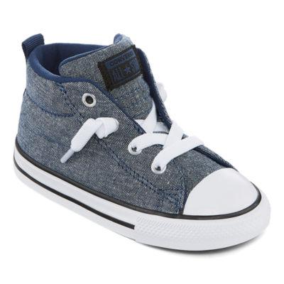 Converse Street Mid Toddler Boys Slip-on Sneakers
