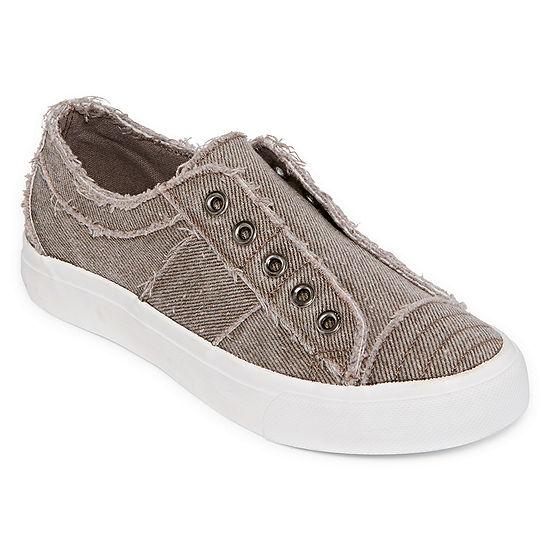 Pop Womens Remmina Closed Toe Slip On Shoe