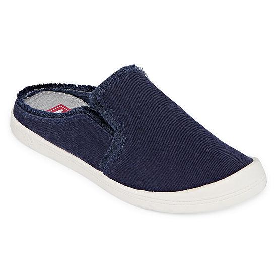 Pop Womens Vibration Closed Toe Slip On Shoe