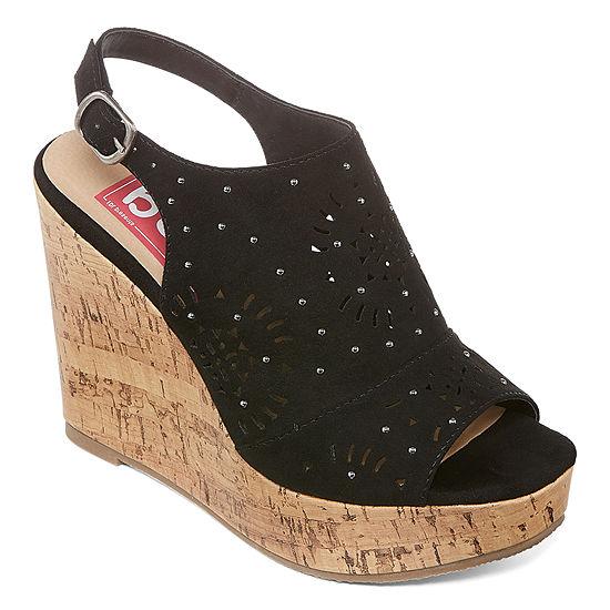 Pop Womens Odette Wedge Sandals