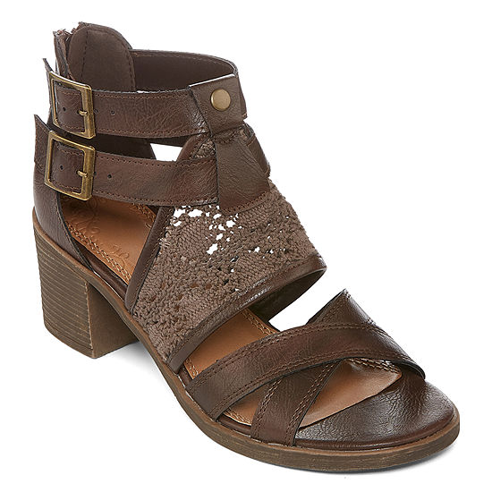 Kind Karma Womens Heroic Heeled Sandals