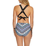 Arizona Chevron Bra Swimsuit Top-Juniors