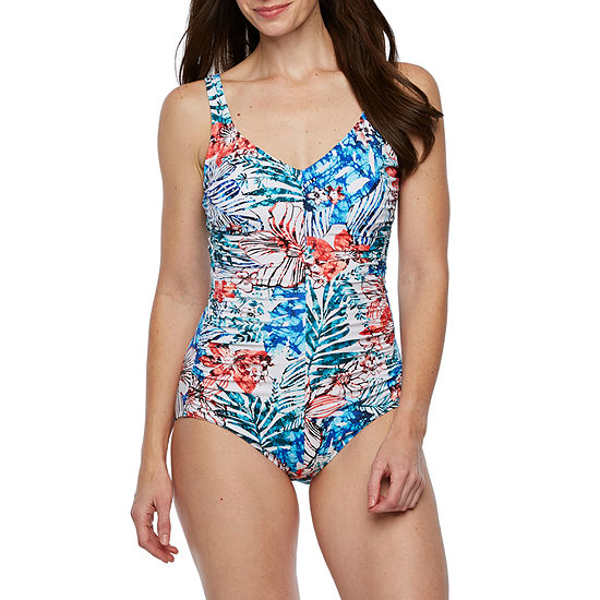 Azul by Maxine of Hollywood One Piece Swimsuit