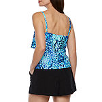 Azul by Maxine of Hollywood Confetti Tankini Swimsuit Top