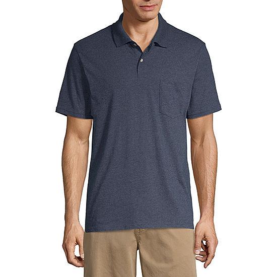St Johns Bay Short Sleeve Jersey Polo Shirt JCPenney 6ef4d9f89