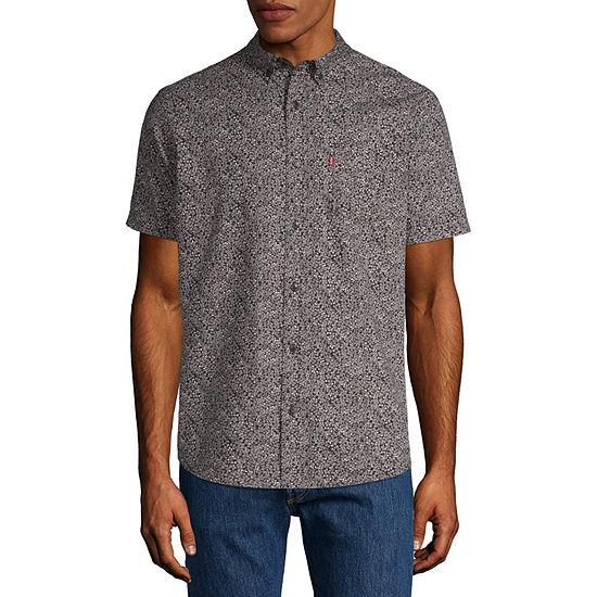 Levis Short Sleeve Button Front Shirt
