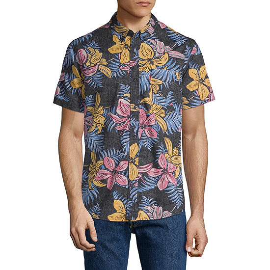 Levi's® Short Sleeve Button- Front Shirt