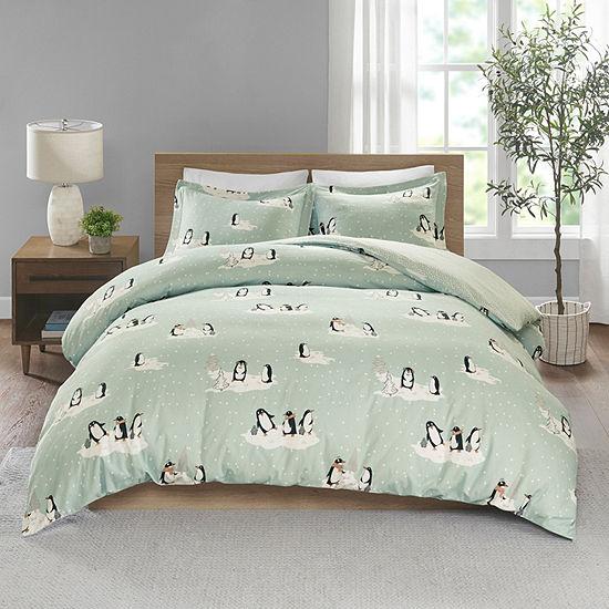 True North By Sleep Philosophy Cozy Flannel 3-pc. Duvet Set