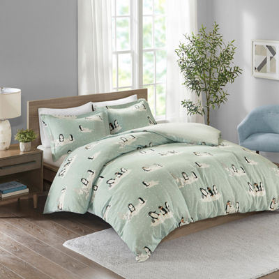 True North By Sleep Philosophy Cozy Flannel 3-pc. Duvet Set