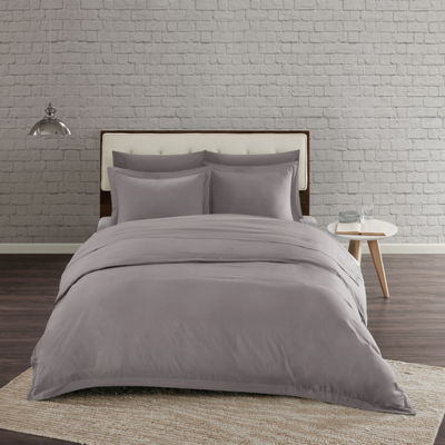 Urban Habitat Comfort Wash Solid Duvet Cover Set