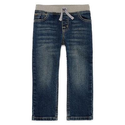 Okie Dokie Toddler Boys Straight Regular Fit Jean