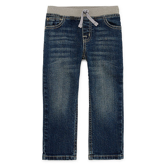 Okie Dokie Toddler Boys Straight Regular Fit Jean