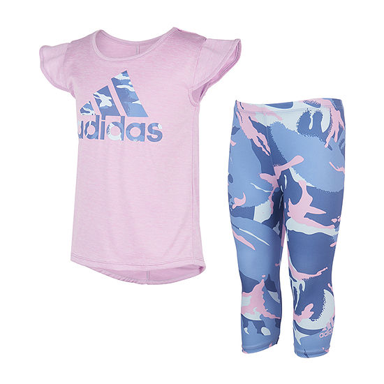 adidas Toddler Girls 2-pc. Legging Set