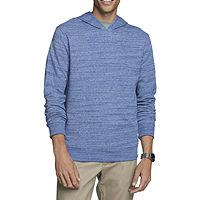 Van Heusen Mens Mock Neck Long Sleeve Sweatshirt Deals