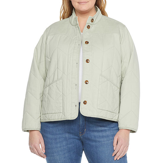 a.n.a Lightweight Quilted Jacket-Plus
