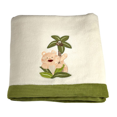 NoJo® Jungle Babies Blanket