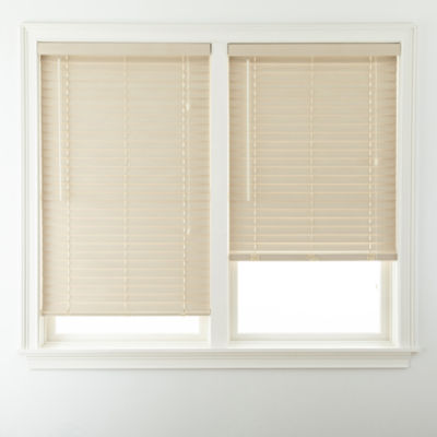 jcp home 2 Printed Fauxwood Horizontal Blinds