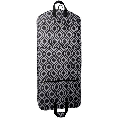 """Wallybags® 52"""" Fashion Carry-On Garment Bag with Pockets"""