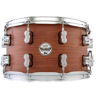 DW PDP Limited Edition Bubinga Snare Drum