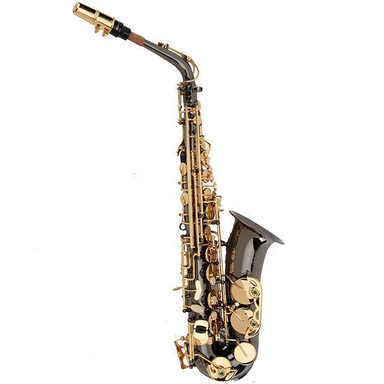 Ravel Key of Eb Nickel-Plated Alto Saxophone