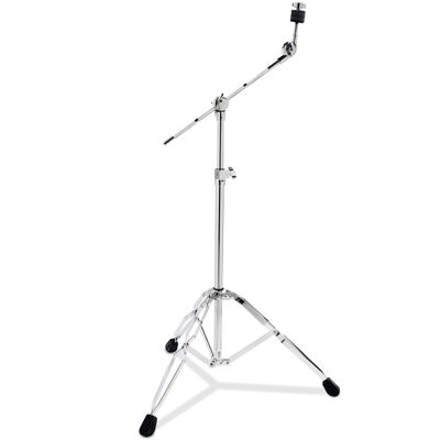 Pacific 800 Series Medium-Weight Boom Cymbal Stand + Black Rubber Tips