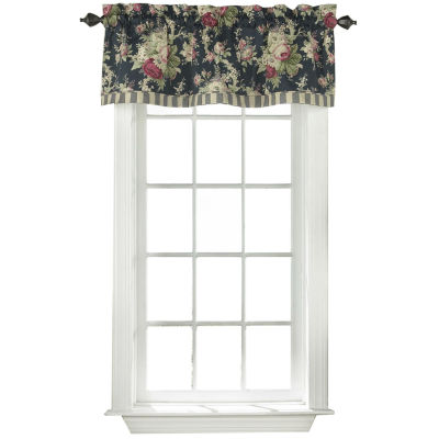 Waverly® Sanctuary Rose Floral Valance