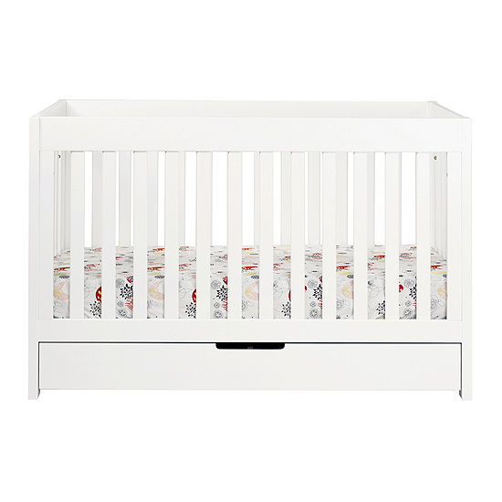 Babyletto Mercer 3 In 1 Convertible Crib White