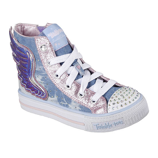 139ebb9f7180 Skechers Twinkle Toes Shuffles Flutter Girls Sneakers - Little Kids -  JCPenney